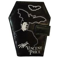 Kreepsville 666 Vincent Price Coffin Bats Horror Movies Punk Gothic Wallet WCVP