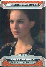 Star Wars Chrome Perspectives II Gold Parallel Base Card 18-S Padme Amidala
