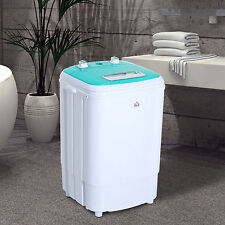 compact mini washing machine portable electric laundry washer spin dorm 84lbs