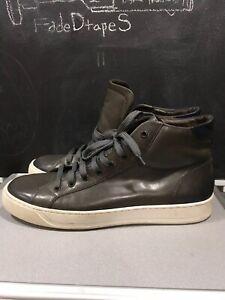 Bruno Magli Wilson Hi Top Sneakers Gray Sz 12