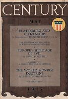 1917 Century May-Europe and Islam; Mrs Fiske goes to the play;Fixing the Balkans
