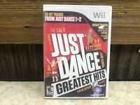 Just Dance -- Greatest Hits (Nintendo Wii, 2012) **DISC ONLY READ** TESTED #2