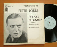 Peter Lorre Mystery In The Air Oiginal NBC Radio Archives Vinyl LP-1001