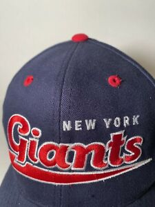New York Giants 90's Vintage Hat Twins Enterprise Official NFL New Without Tags