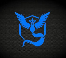 Pokemon Go decal GYM team mystic emblem decal Pokemon Team blue sticker