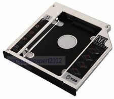 New 2nd SATA HDD HD SSD Hard Drive Caddy Adapte Bay for HP EliteBook 8440p 8530p