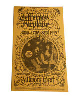 BG-247 Jefferson Airplane Fillmore Concert Postcard Handbill MINT Rare