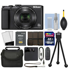 Nikon Coolpix A900 20MP 4K Digital Camera 35x Optical Zoom Black WiFi + 16GB Kit