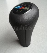 1x Black Gear Knob Shift 5 speed for BMW 3 5 7 series M E36 E46 E34 E39 E38