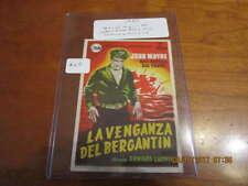 John Wayne La Venganza 1954 house move ad handout