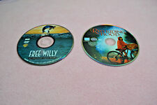 LOT of 2 DVDs FREE WILLY 10th Anniversary Edition & RED RIDING HOOD Fairy Tale