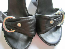 ALDO wedge shoes black 36 (worn once)