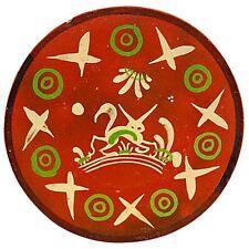 Vintage Mexican Bandera Ware Rabbit Wall Plate