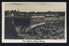 Wales Glam BARRY ISLAND RP PPC Shelters