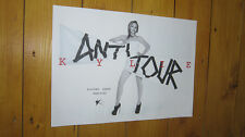 Kylie Minogue The Anti Tour Concert Repro Poster