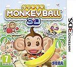 Super Monkey Ball 3D Nintendo 3DS PAL UK **FREE UK POSTAGE!!**