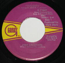 "21st Creation 7"" 45 HEAR SOUL FUNK Tailgate GORDY 1977 Mr Disco Radio"
