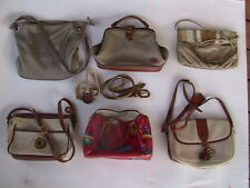 [G5A] LOT OF 6 PURSES - LIZ CLAIBORNE, LUV HANDLES, CAPEZIO