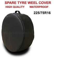 225/75R16 SPARE TYRE COVER WHEEL PROTECTIVE TYRE BAG SPACE SAVER FOR ANY CAR D56