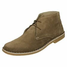 Mens Lambretta Suede Ankle Boots UK Sizes 7-12 Carnaby
