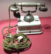EARLY EUROPEAN RINGER DESK TELEPHONE KJOBENHAVNS TELEFON AKTIESELSKAB PHONE