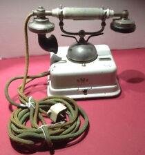EARLY EUROPEAN RINGER DESK TELEPHONE KJOBENHAVNS TELEFON AKTIESELSKAB PHONE