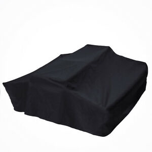 Black1.4m Travel Cover Roof Top Tent For Camper Trailer Dustproof 4X