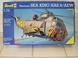 Revell Sea King HAS 6/AEW Helicopter Model Kit 1:72