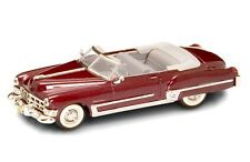 New 1/43 Burgundy 1949 Cadillac Coupe DeVille Convertibe for Lionel MTH & K-Line