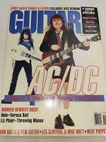 AC/DC, Eddie Van Halen, Jerry Garcia - Guitar World Magazine 1995