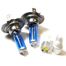 MG MG ZS H7 501 55w ICE Blue Xenon HID Low Dip/Slux LED Side Light Bulbs Set