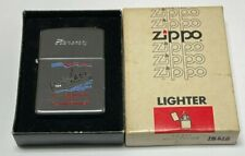 Vintage Zippo 1983 Military Ship High Polish Lighter | Unused in Original Box |