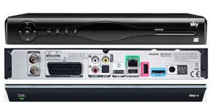 SKY  Kabel Twin Receiver + 2000 GB (2TB) Festplatte DVB-C Kabel TV