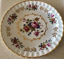 "Vintage Alpine White Ironstone Wood & Sons England 10"" Plate"