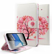 Samsung Galaxy Ace Style S765C Hybrid PU Leather Wallet Pouch Case Flip Cover