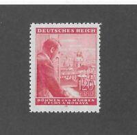 MNH Stamp / Adolph Hitler / 1943 Birthday 1.20 Kr + 3.80 Kr / WWII Occupation