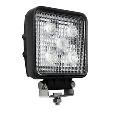 LED AtuoLamps Work Lamp 12/24V Square Flood Tractor Truck Trailer Beam Lumens