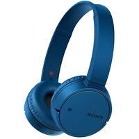 Sony WH-CH500 Blau Bügel-Kopfhörer Bluetooth 4.2 A2DP NFC Headset On-Ear Akku