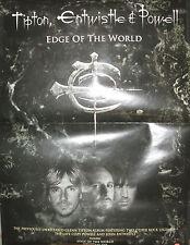 Tipton, Entwistle & Powell, Rhino promotional poster, 2006, Vg+ Who, Priest