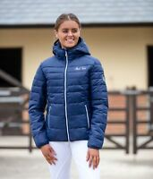 Mark Todd Lightweight Breathable Soft Ladies Padded Reeflan Jacket Navy XS-XL