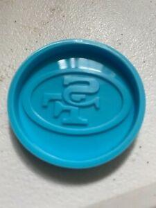 San Francisco 49ers phone grip / badge holder resin mold