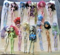 Monster High Doll Lot ~ Parts/Repair OOAK Repaint