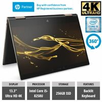 HP Spectre x360 13-ae004na 4K Convertible Laptop i5-8250U 256GB SSD TOUCH 13.3""