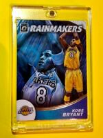 Kobe Bryant HOT RAINMAKERS OPTIC EMBOSSED SPECIAL INSERT CARD DONRUSS - Mint!