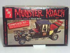 Vintage 1964 AMT Munster Koach 1/25 Model Kit Complete Original