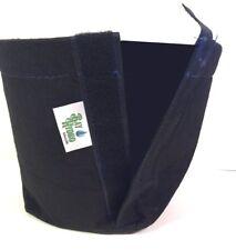 10pc 7 Gallon Bay Hydro Fabric Pots Quick Hook & Loop Fastener Trans-Planter $