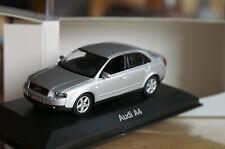 1:43 Audi A4 silver B6 MINICHAMPS silber 2.3.4.6.8.9.0.5.7.tdi fsi t quattro