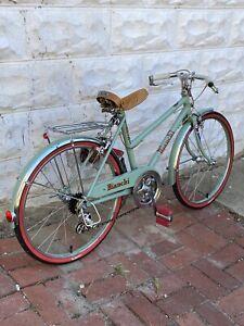 "Bianchi Girls 20"" Kids City Bike Custom Campagnolo Restored 15"" Frame 1980s"