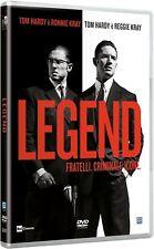 Dvd LEGEND - Fratelli.Criminali.Icone (2016) *** Contenuti Extra ***......NUOVO