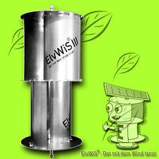 280 Watt Aluminium Savonius Windrad ElvWiS ® III Strom Windkraft Windenergie